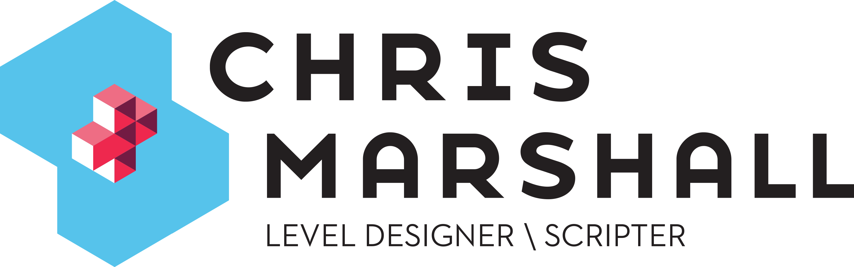 Chris Marshall - Game Design Logo
